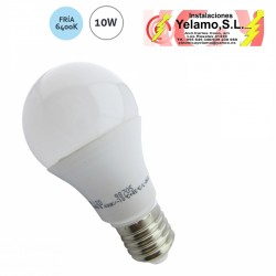 BOMBILLA LED 10W E-27 ESTANDAR 6400K