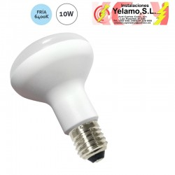 BOMBILLA LED 10W E-27 ESCAPARATE R-80 6400K