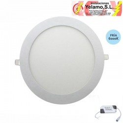 DOWNLIGHT LED 12W  REDONDO EMPOTRAR  BLANCO 6000K