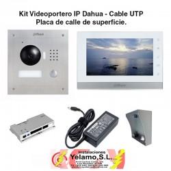 KIT VIDEOPORTERO  IP DAHUA VTKB-2000A-1550CH-S