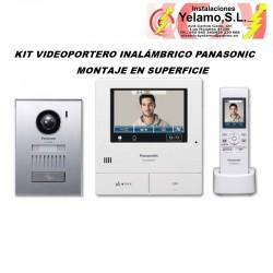 KIT VIDEOPORTERO INALÁMBRICO PANASONIC VL-SWD501EX