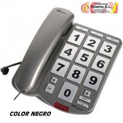 TELÉFONO NEGRO TECLAS GRANDES