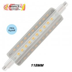 BOMBILLA LED 8W  LINEAL 118MM 6400K