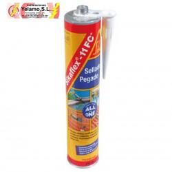 Sikaflex 11FC gris cemento masilla a base de poliuretano