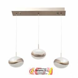 LAMPARA 24W 3300K PLANETT CHAMPAGNE DORADO 1800LM 25-113X52X12