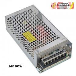 TRANSFORMADOR TIRA  LED 200W 24V