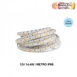 METRO TIRA LED 12V 6000K IP65 14.4W X METRO