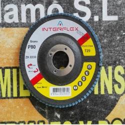 DISCO RADIAL LIJA  115 MM GRANO 80